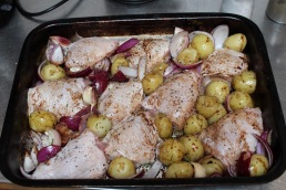 chicken and potatoes small