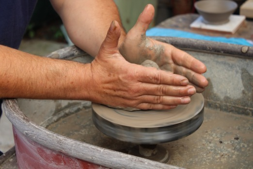 turning a bowl small