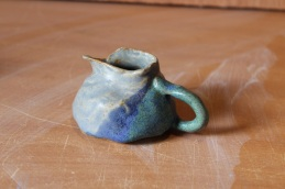 Potery pouring jug 1 (small)